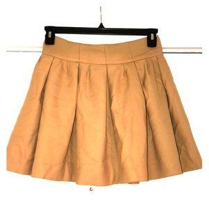 Tan Zara mini skirt size Small